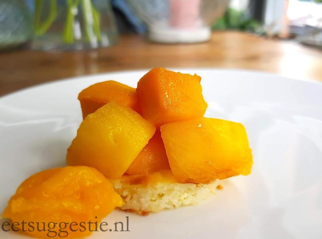 Weight Watchers Proof rijstbodem met mango