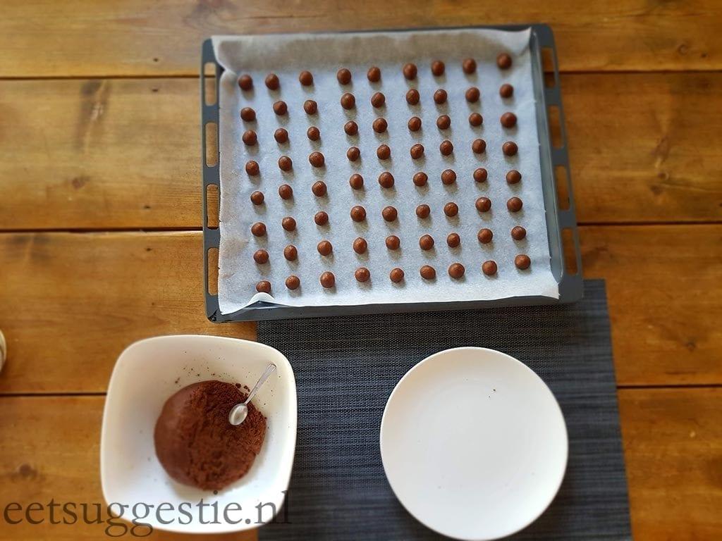 Pepernoten / kruidnoten deeg