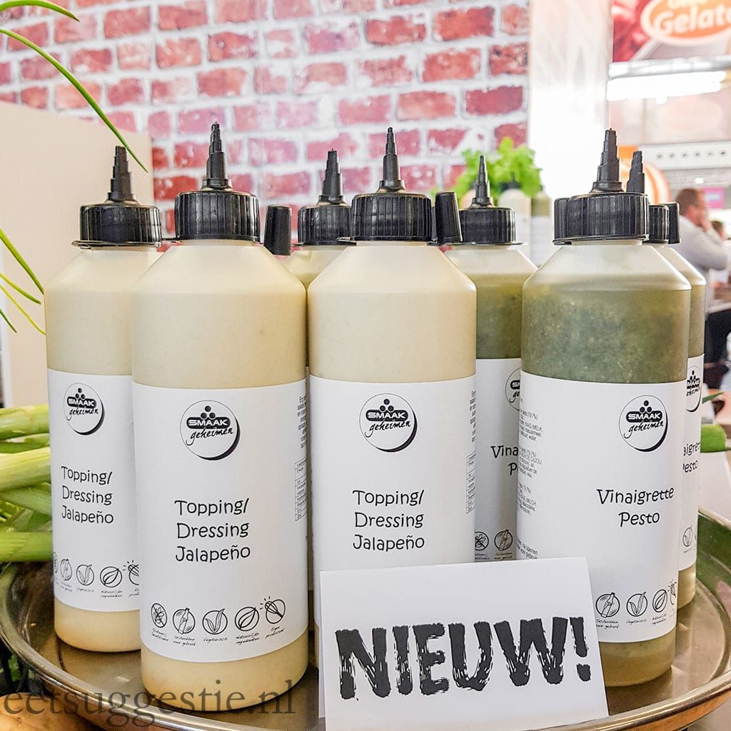 Smaakmakers vegan sauzen en dressings